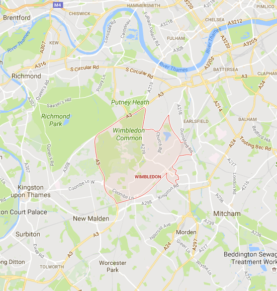 wimbledon-london-map